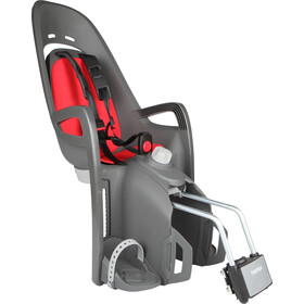 Hamax Zenith Relax fietsstoeltje grijs/rood